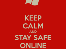 keep calm and stay safe online 251